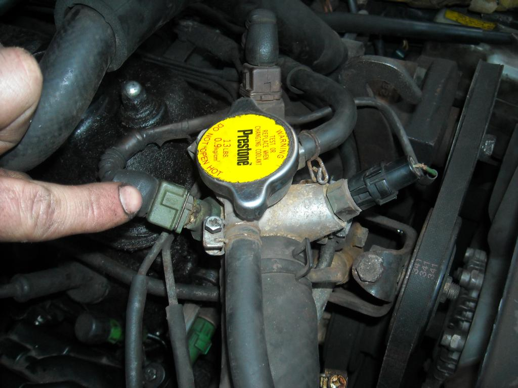 Very Rough Idle Cutting Out Immediately Distributor Vacuum Toyota 4y Engine Timing Marks Attached Images